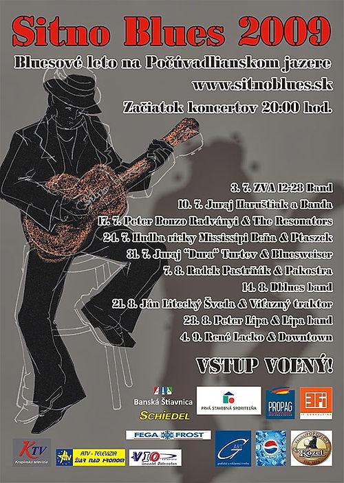plakát Sitno Blues 2013