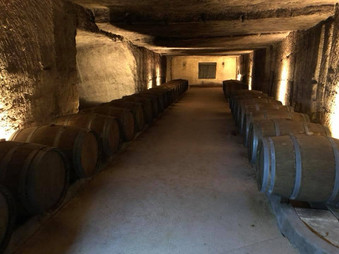 Les caves du Château De La Rivière