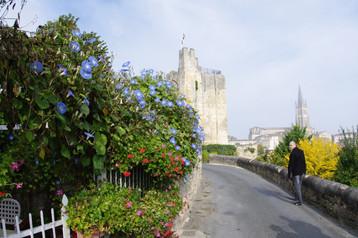En montant vers la tour du Roy