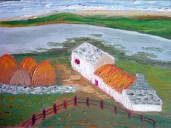 Irish cottage - 1990