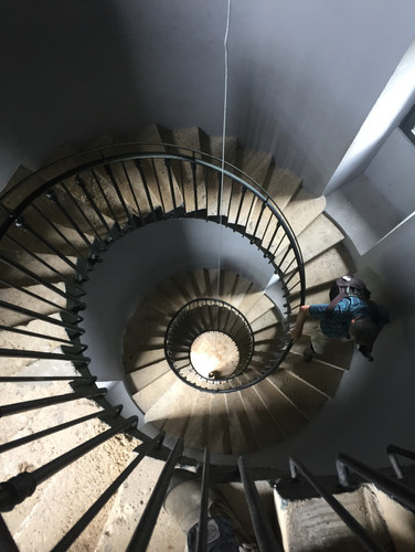 Escalier du Phare de Patiras