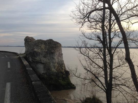 La corniche de la Gironde