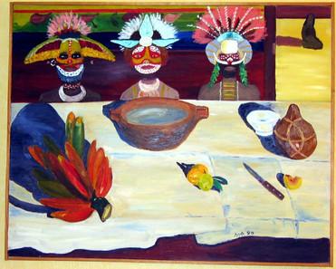 Gauguin revisited - 1990