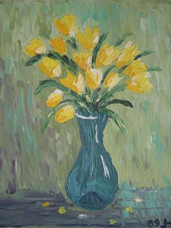 Flowers (School work) - 1989