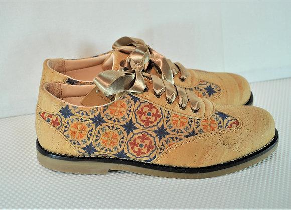 Schoenen in kurkleer