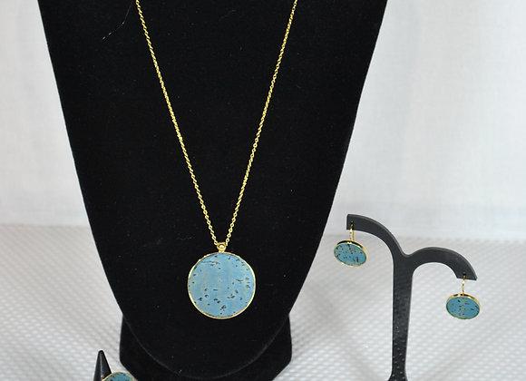 Juwelensetje in kurk