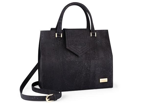 Zwarte Tote handtas