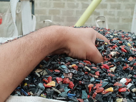Why is important a local recycling infrastructure