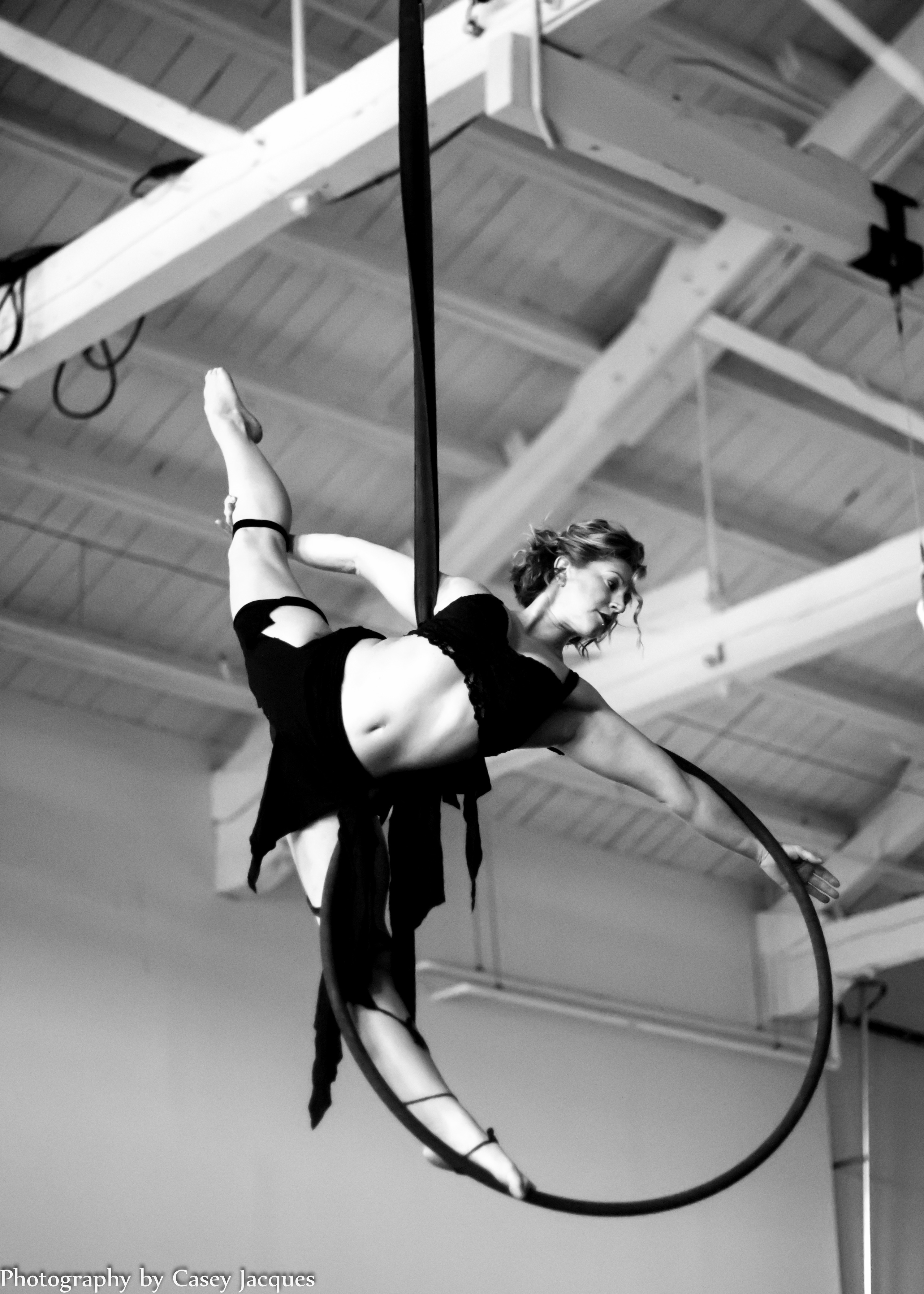 Aerial Hoop. Photo by Casey Jacques