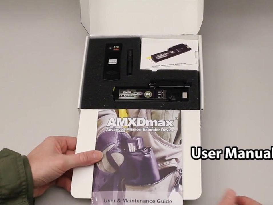 AMXDmax Instructional Video | Female | Initial setup