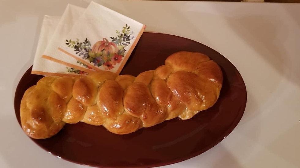 Honey Glazed Braided Bread