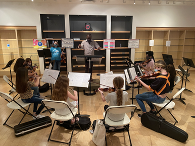Sinfonia Youth Orchestra Sparks Interest for String Instruments