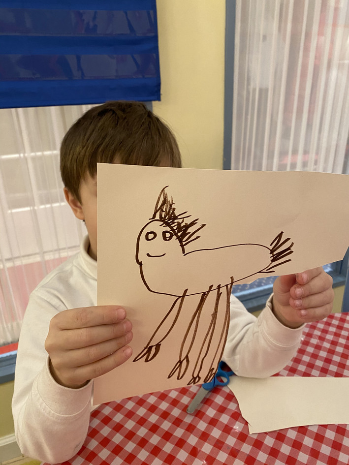 Let's make a puppet with paper