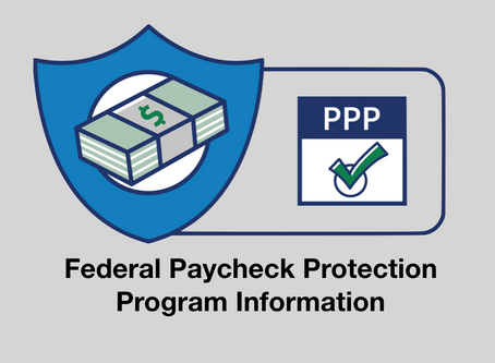 Federal Paycheck Protection Program Begins Today 4/3/20