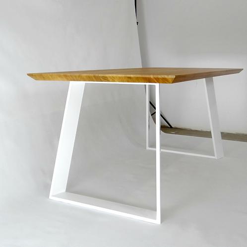71x71cm steel table legs for dining table ALEXANDRA (set of 2). Metal desk legs.