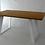Thumbnail: 71x71cm steel table legs for dining table ALEXANDRA (set of 2). Metal desk legs.