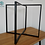 "Thumbnail: L shape Steel Dining Table Legs (51cm/20""wide)."