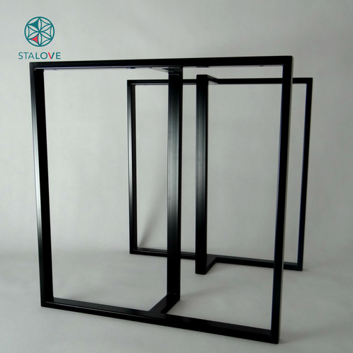 T Shape Steel Dining Table Legs Strong And Sleek Base For Table - T base table legs