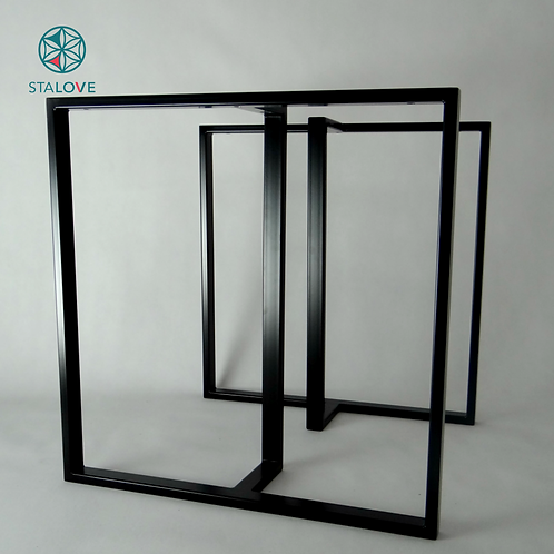 T shape Steel Dining Table Legs. Strong and Sleek Base for Table.