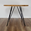 Thumbnail: Slim Butterfly Steel Table Legs for Small and Round Table Tops