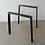 Thumbnail: Trapezoid Steel Dining Table Legs (set of 2). Metal Table Legs.