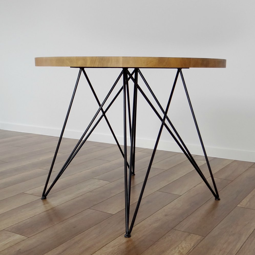 Slim Butterfly Steel Table Legs for Small and Round Table Tops | stalove