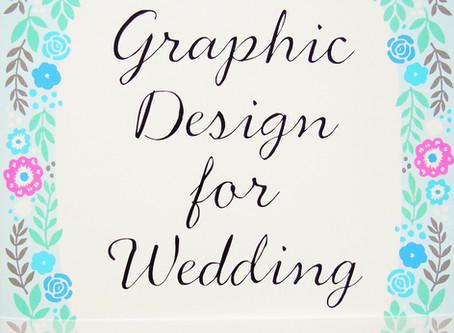 Graphic Design for Wedding