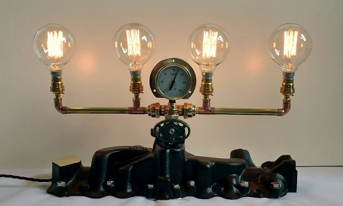 1940's Ford manifold lamp