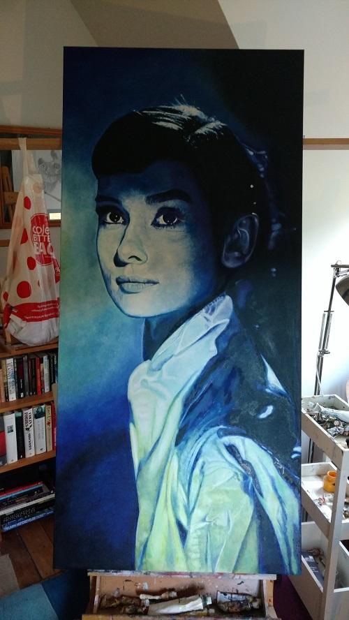 Porcelain Lady (Audrey Hepburn)