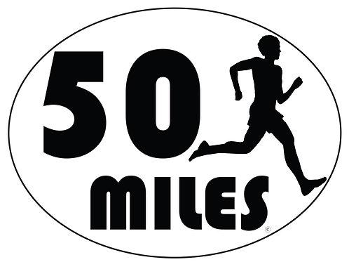 50 Mile - Bumper stickers