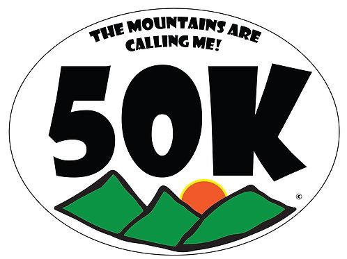 50K - Bumper stickers