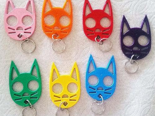 Self Defense Cat Key-chain