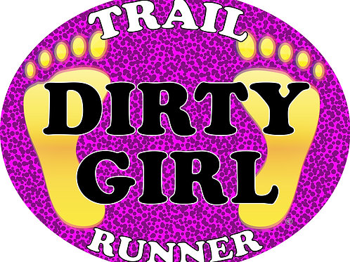 Trail runner - Bumper stickers