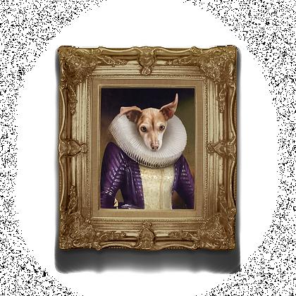"11""x14"" Custom Regal Pet Portrait"