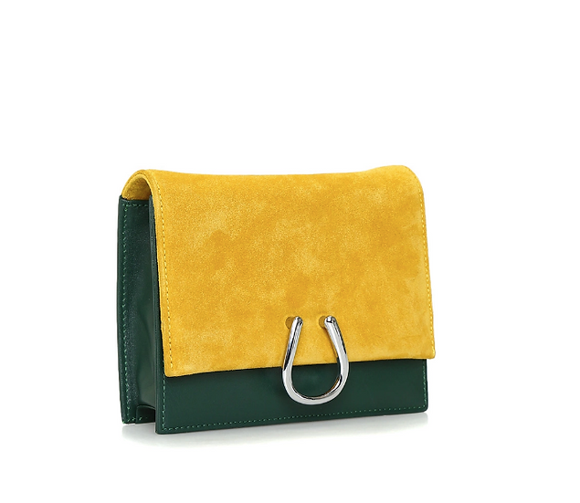 Mustard-Green BEKM Belt&Shoulder Bag