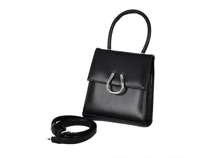 Black Leather Micro DEM