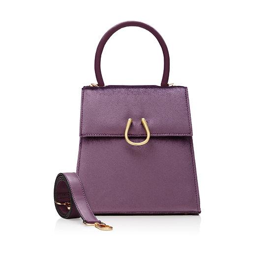 Purple Velvet DEM Bag