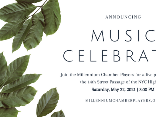 """Join us for """"Music Celebrates"""" on the NYC Highline 