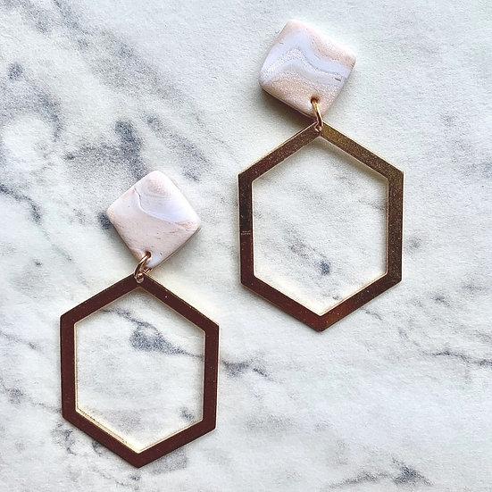 Mara Gold Hexagon