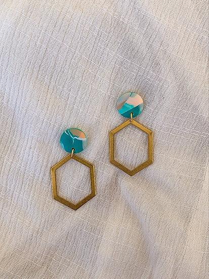 St Tropez Hexagon Drops