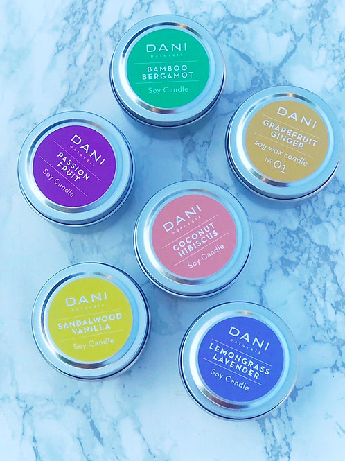 Soy Travel Tin Candle
