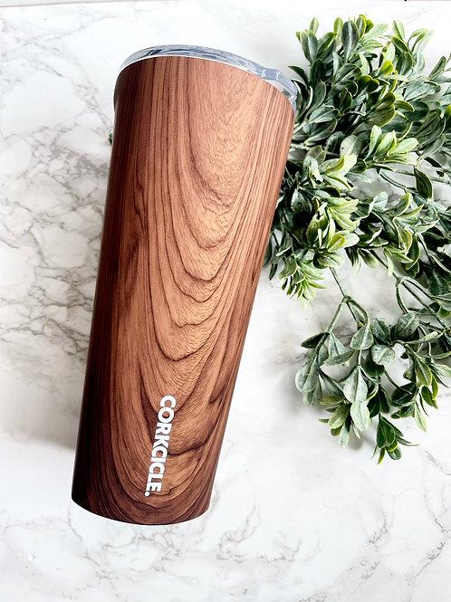 Corkcicle Wood Grain 24oz Tumbler