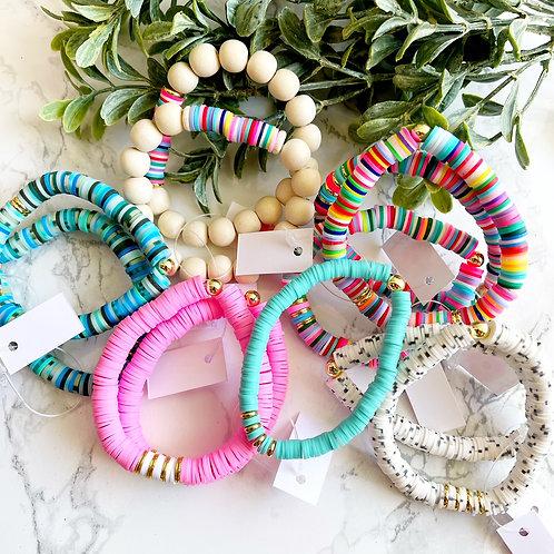 Simply Poppy Bracelets