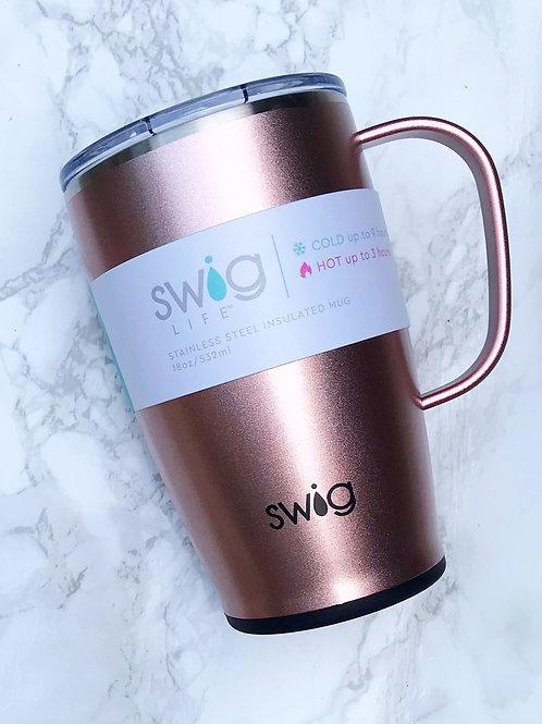 Swig Rose Gold Travel Mug