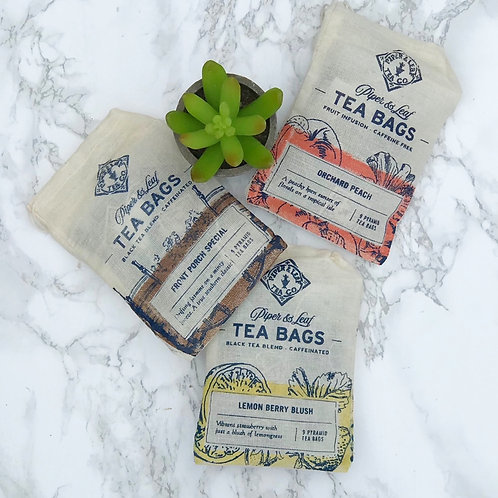 Piper & Leaf Tea Bags