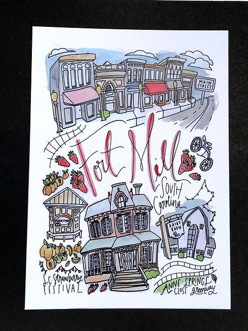 Fort Mill Print