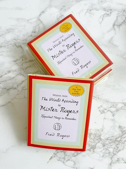Mister Rogers Mini Book