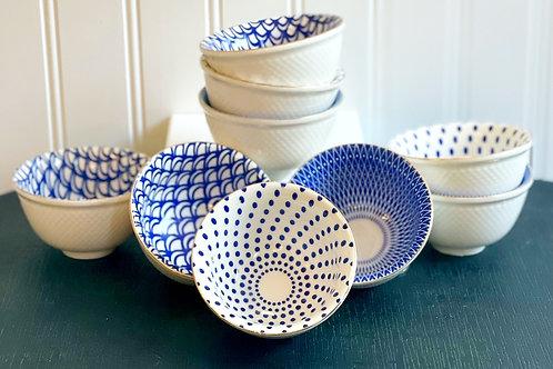 Blue & White Mini Bowls