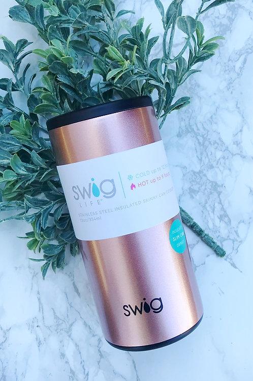 Swig Skinny Rose Gold Insulator