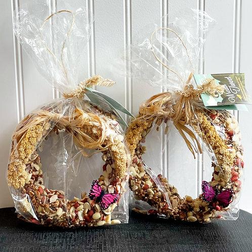 Bird Seed Wreaths